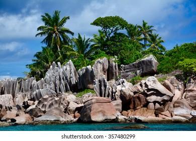 Island of St. Pierre, Praslin, Seychelles
