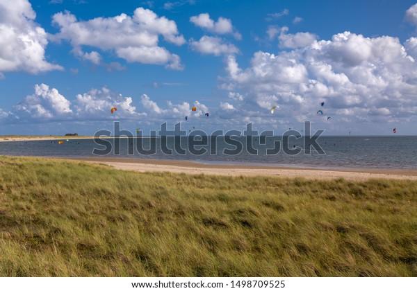Island Sylt Germany Surfspot Near List Stock Photo Edit Now