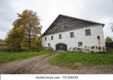 The island of Valaam. The Valaam Monastery. Monastic buildings. Russia, Karelia