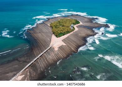 A island view in Japan Miyazaki