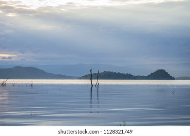 Islands on lake baringo