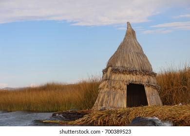 Islas de Uros, Titicaca lake in Peru - Culture of South america