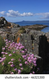 Isle of Eigg from Arisaig.