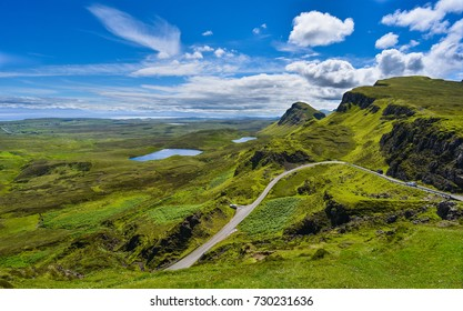 Isle of Skye in the Highlands of Scotland