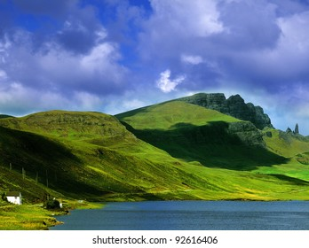 the isle of skye in Scotland, Great Britain UK