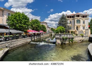 Isle sur le Sorgue in the Luberon Provence