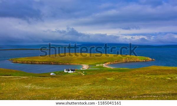 Isle of Yell, Shetland, Scotland