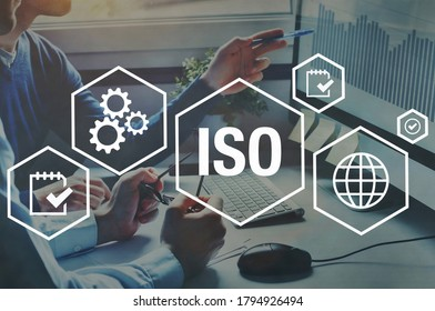 ISO standards quality control concept, assurance warranty