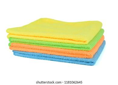 Isoalted Microfiber Cloths.