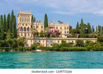 Isola del Garda is the largest island on Lake Garda.  The Villa Borghese is the most famous building.  Often used as a wedding venue the island.
