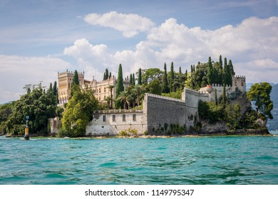 Isola del Garda is the largest island on Lake Garda.  The Villa Borghese is the most famous bulding.  Often used as a wedding venue the island can be visited by boat from a number of Lake Garda towns.