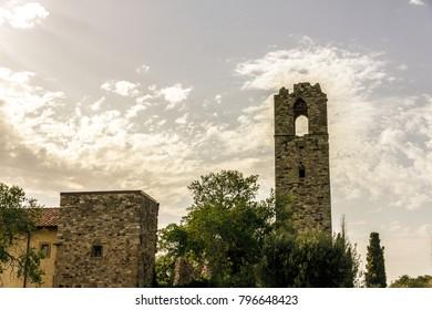 Isola Polvese: Abbey