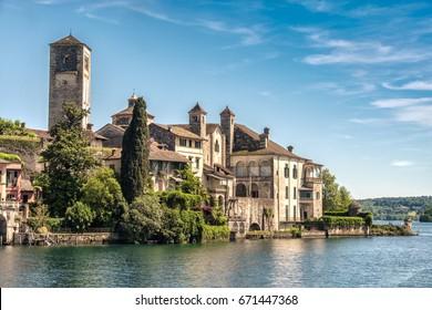 Isola San Giulio (San Giulio Island) - Orta Lake - Novara - Piedmont - Italy