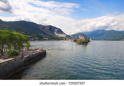 Isola Superiore (Fishermen's Island) on Lake Maggiore - Baveno - Stresa - Italy