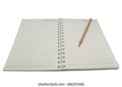 isolate books&pencil 2