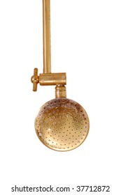 Isolate brass metal shower pipe