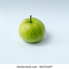 Isolate Picture : A Green Guava