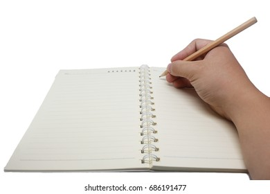 isolate right hand writing