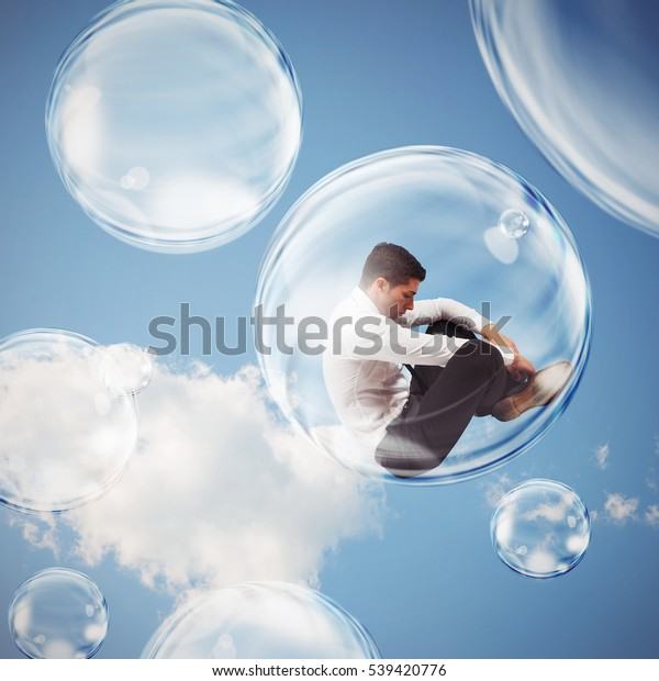Isolate themselves inside a bubble