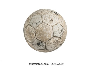 Isolate Used football for soccer games.
