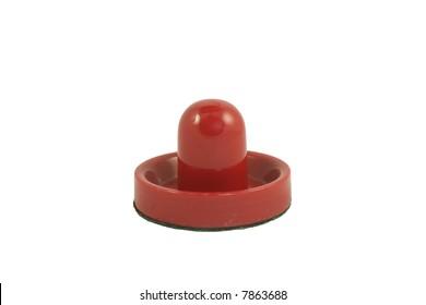 Isolated air hockey mallet