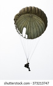 isolated airborne soldier