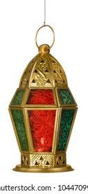 An isolated arabic lantern