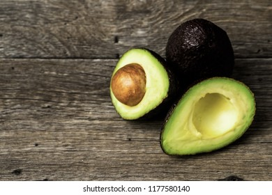 Isolated avocado for delicious salads or for your sandwich. A healthy treat for everyones meal.
