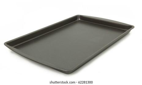 Isolated Baking Sheet Over White