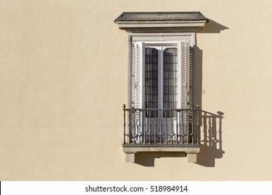 Isolated Balcony