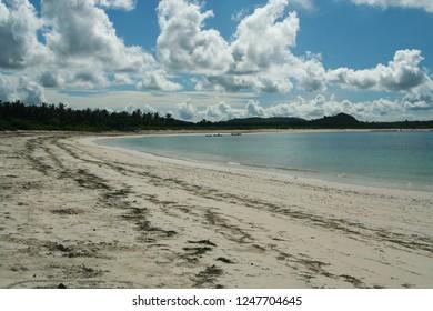 isolated bay on Lombok