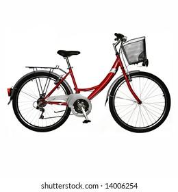 isolated bicycle