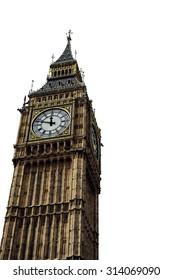 Isolated Big Ben