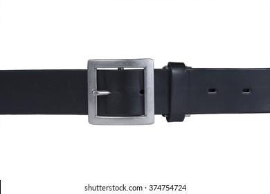Isolated black belt