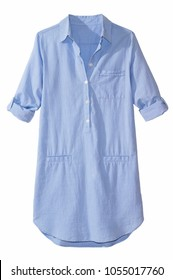 isolated button down shirt