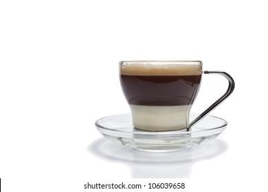 Isolated cafe bombon