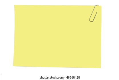 isolated card on a white background
