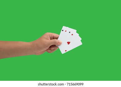 isolated card poker.