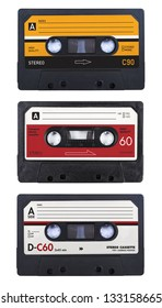 isolated cassette tapes