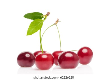 Isolated cherry