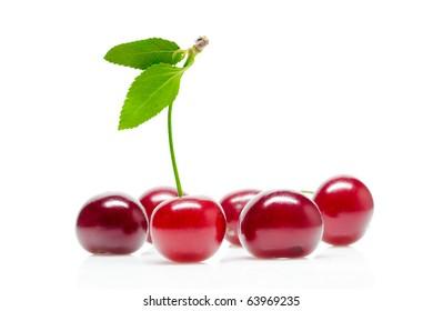 Isolated cherry