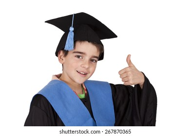 isolated child clothes graduation