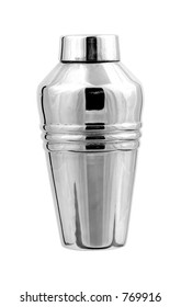 Isolated Cocktail SHaker