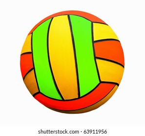 isolated colored ball