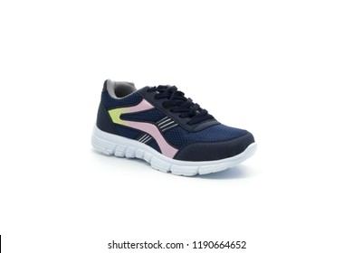 isolated daily flat, sport, casual, ballerina, oxford, loafer women shoes photos on white background. can be used in the websites of companies selling shoes and clothing, e commerce sites and catalogs