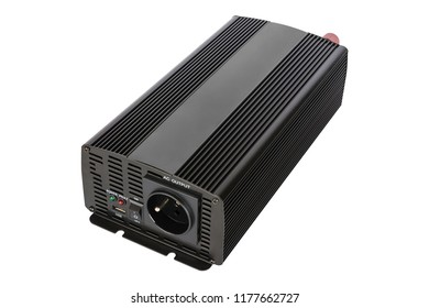Isolated DC to AC power inverter for car and solar panel.