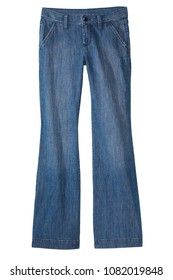 isolated denim jeans pants