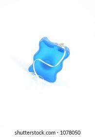 Isolated dental floss