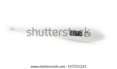 Isolated Digital Thermometer Temperature 366 Stock Photo Edit Now
