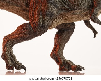 Isolated dinosaur and monster model